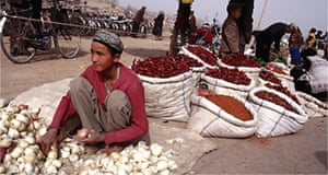 Market, Kashgar