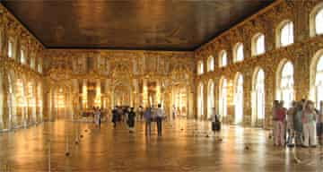 Great Hall, Catherine Palace, Russia