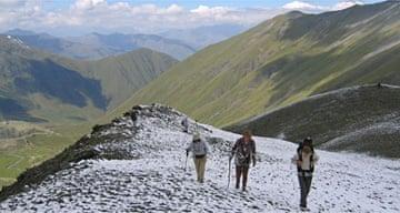 Abudelauri pass, Caucasus, Georgia