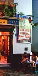Tapas bar, Seville
