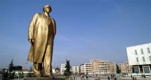 Statue of Enver Hoxha