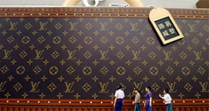 Louis Vuitton advertisement, Shanghai