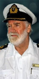 Commodore Ronald Warwick, the Captain of the Queen Mary 2