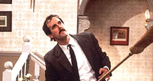 John Cleese stars as Basil Fawlty in Fawlty Towers