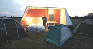 Travelodge's new 'Travelpod' mobile hotel room