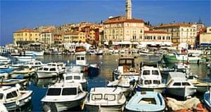 Rovinj harbour, Istria, Croatia