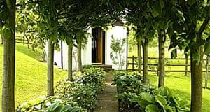 Roald Dahl's writing shed