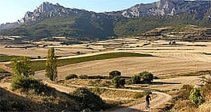 Cycling in Rioja, Spain