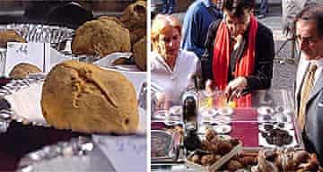 The world white truffle market, Alba, Italy