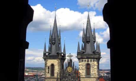 Prague: Tyn church