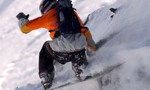 Snowboarding: Verbier