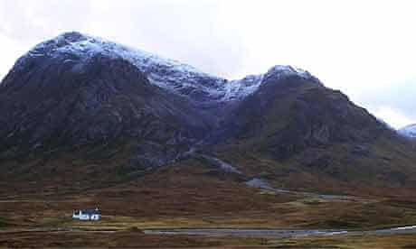 Scottish highlands scene