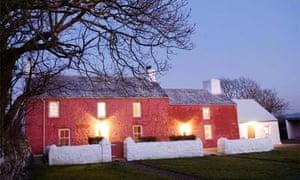 Griff Rhys Jones' Trehilyn Uchaf farmhouse