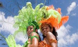 Carnival time in Trinidad and Tobago