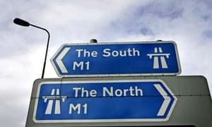Junction 26 on the M1 motorway