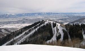 The Canyons ski resort, Utah