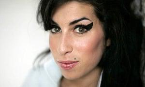 British singer Amy Winehouse