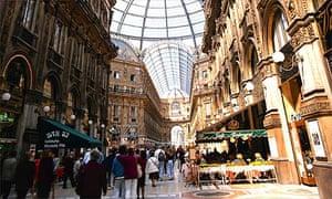 Milan Galleria Vittorio Emanuele II shopping centre