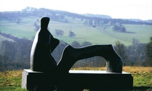 Reclining Henry Moore