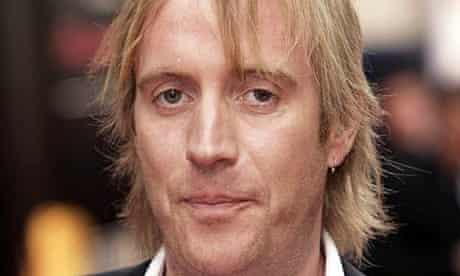 Rhys Ifans arriving at The Pioneer British Academy Television Awards
