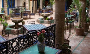 The Riad Al Madina in Essaouira, Morocco