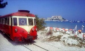 Train in Corsica
