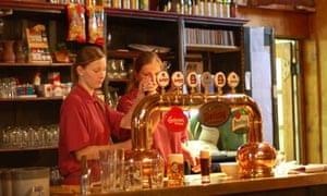 Czech tap room