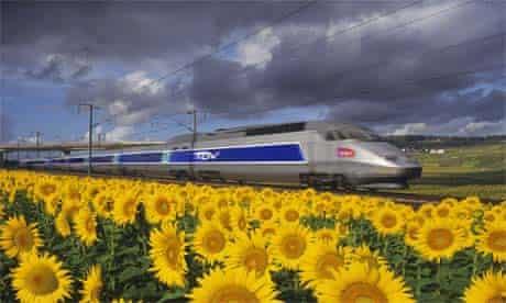 TGV train in France