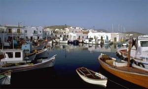 Five best: Paros Greek Island