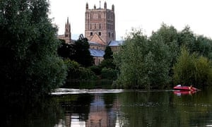 View from Tewkesbury