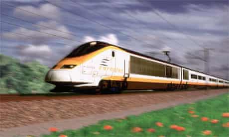 Eurostar highspeed train