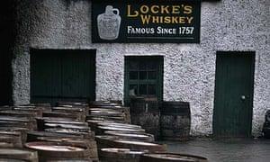 Locke's Whiskey Distillery in Kilbeggan, Ireland