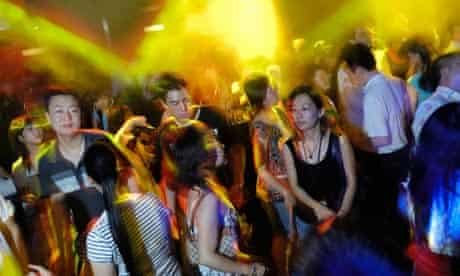 Clubbing in China