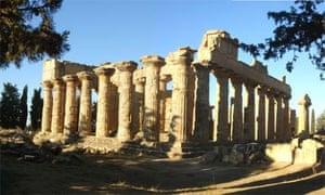 Temple of Zeus in Libya