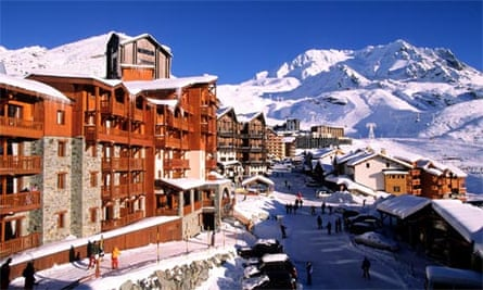 Val Thorens ski resort, France