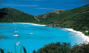 White Bay in the Caribbean