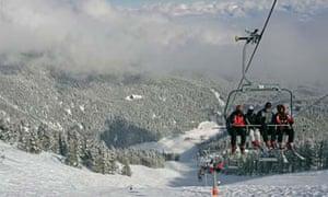 """""""Ski lift in Bansko, Bulgaria"""""""
