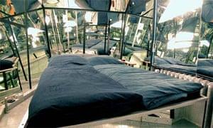 The Mirror room at Propeller Island City Lodge, Berlin