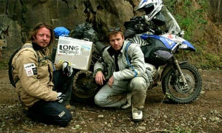 Charley Boorman and Ewan McGregor in the Long Way Down