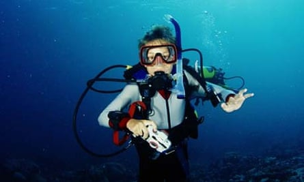 Scuba diving in the Red Sea