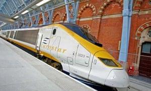 Eurostar at St Pancras International