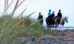 Horse riding in Ireland