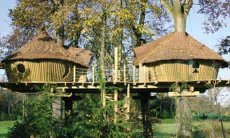 Treehouses in Brittany