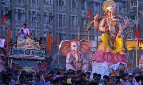 Ganesh Chaturthi in Mumbai, India