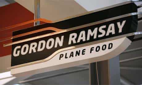 Gordon Ramsay's Plane Food in Heathrow Terminal 5
