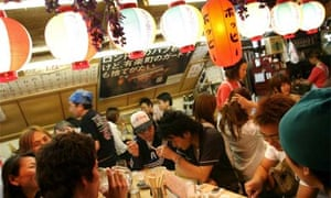Eating out in Tokyo