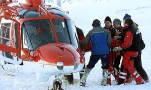 Avalanche rescue team