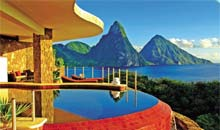 Jade Mountains, St Lucia