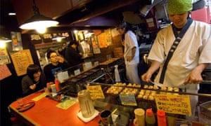 Osaka street food, Japan