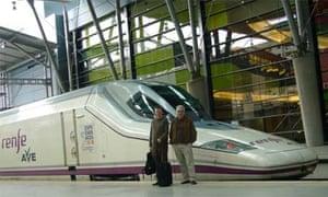 Elipsos Trenhotel, train to Spain